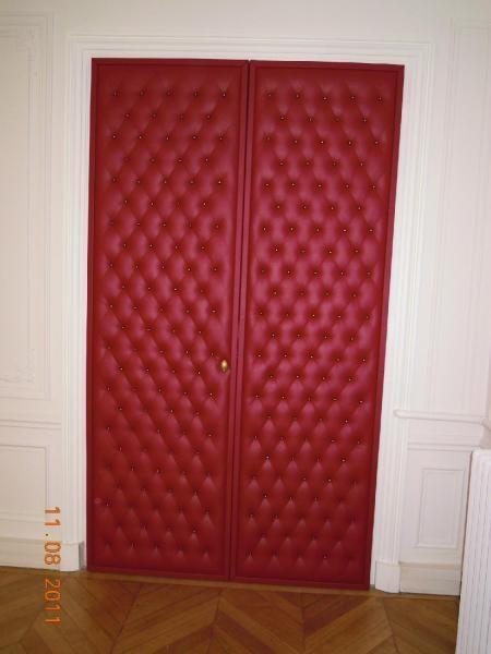 Capitonnage de porte sen decors - Porte capitonnee prix ...